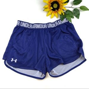Under Armour Mesh Lightweight Running Shorts